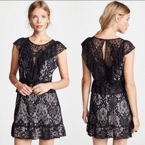 NWT BB Dakota Sexy Black lace formal dress trendy